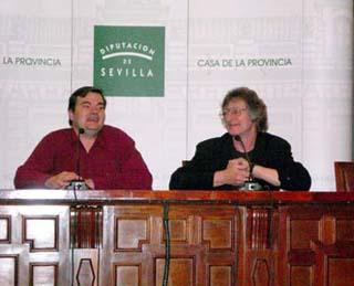 Eduardo Alpuente y Alan Grant