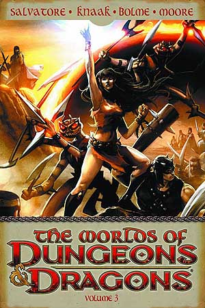 Worlds of Dungeons & Dragons #3 TPB (portada/cover)